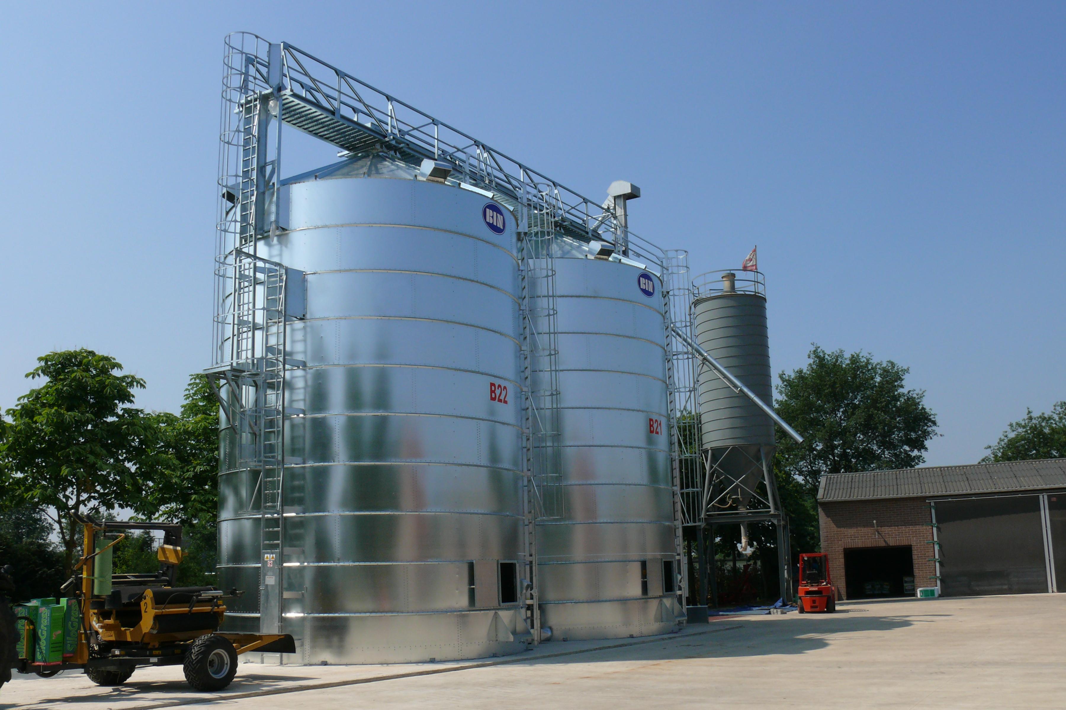 Akkerbouwer uit Blijham investeert in 590 ton graanopslag