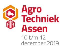 Jansen&Heuning standhouder op Agro Techniek Assen