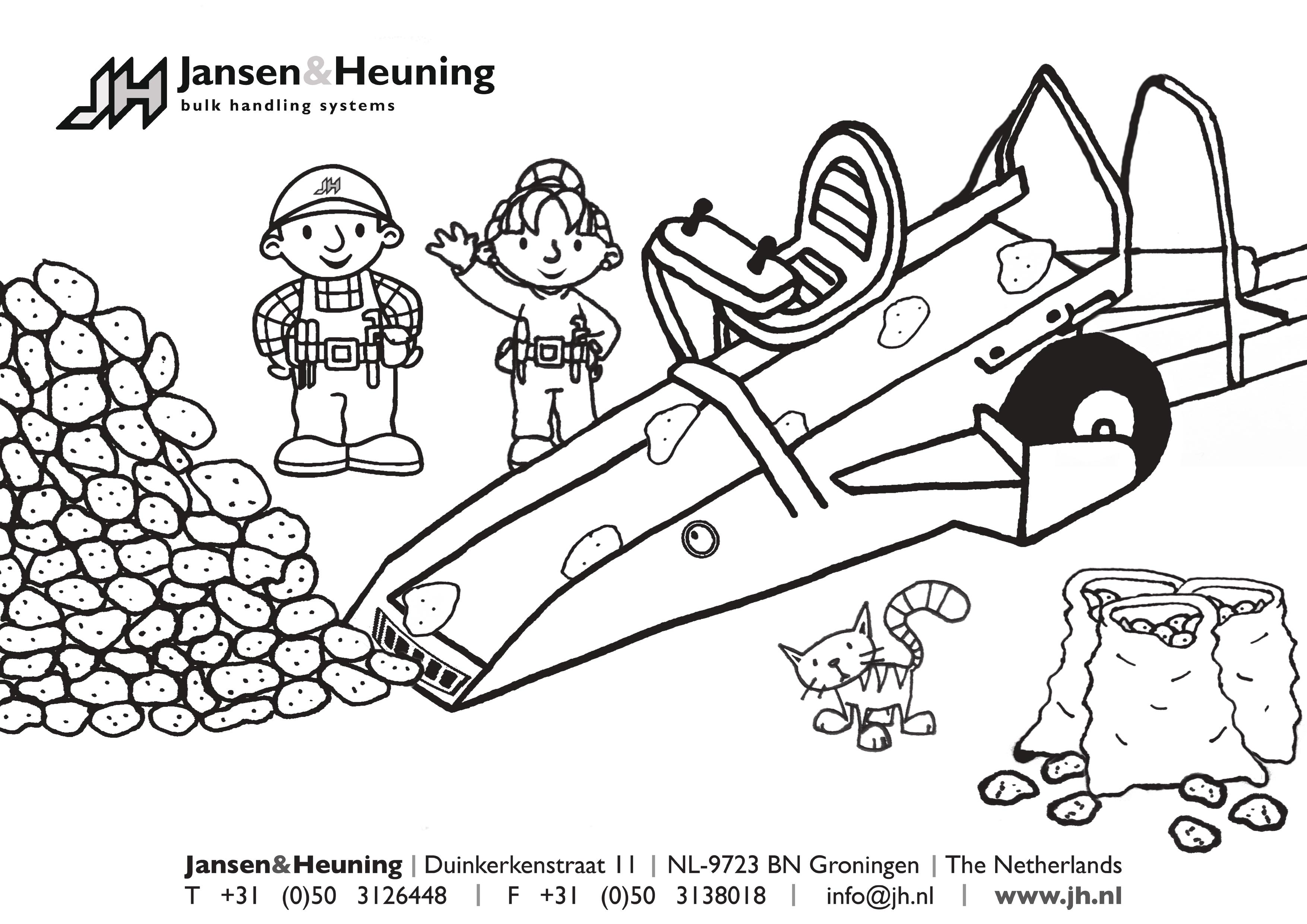 Download and print Meijer Holland coloring page